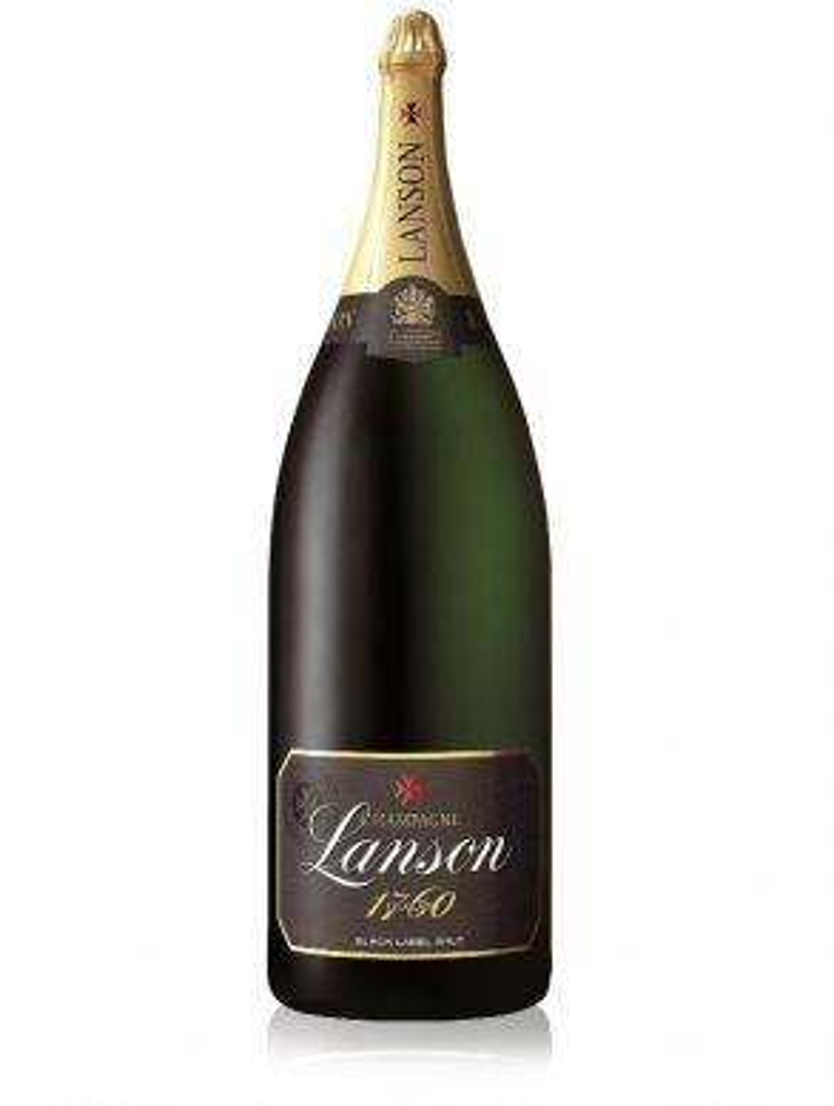 Lanson Black Label Salmanazar Champagne Brut NV 900cl Gift Box