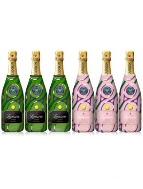 Lanson Wimbledon 2019 Champagne Collection Case Deal 6x75cl