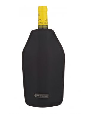 Le Creuset Wine Cooler Sleeve Black 75cl