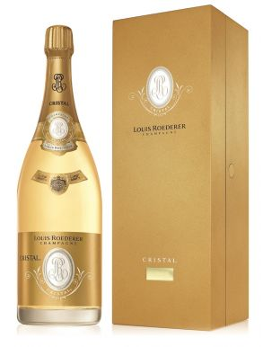 Louis Roederer Cristal Jeroboam Champagne 1999 300cl Wooden Box
