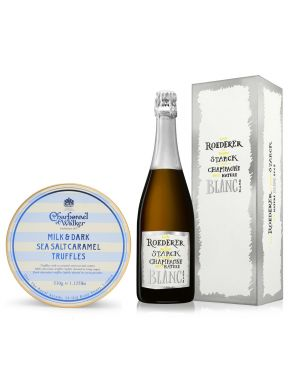 Louis Roederer Brut Nature Philippe Starck 2009 75cl & Truffles 650g