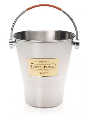 Laurent Perrier Champagne Branded Metal Ice Bucket