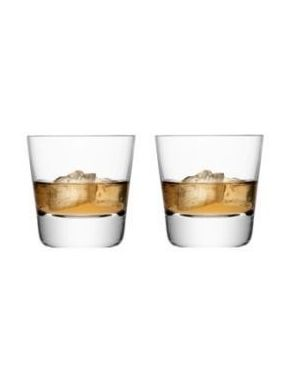 LSA Madrid Tumblers - Clear 270ml (Set of 2) Gift Box