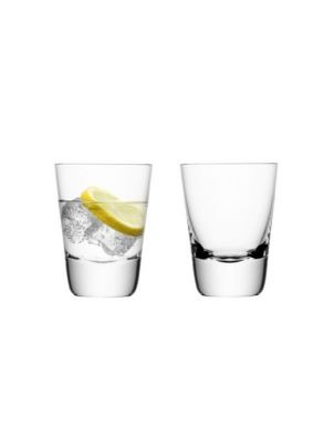 LSA Madrid Tumblers - Clear 300ml (Set of 2)
