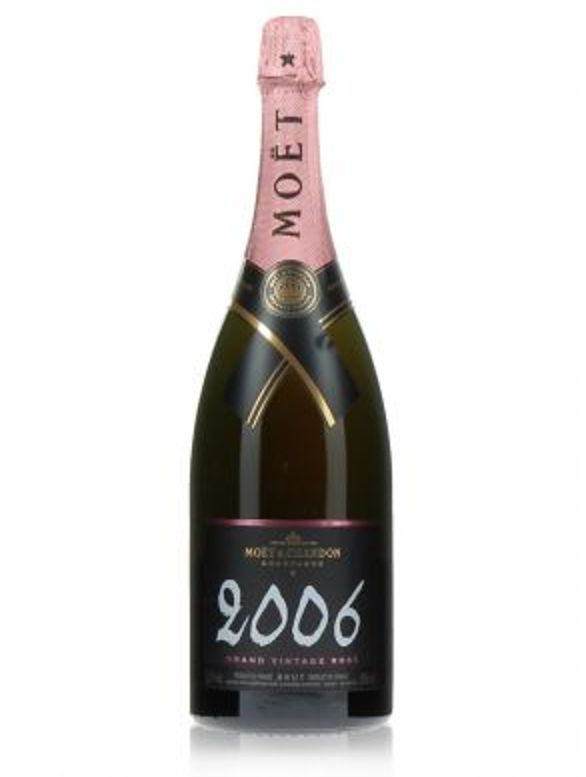 Moet & Chandon Magnum Rosé 2002 Grand Vintage Champagne 150cl
