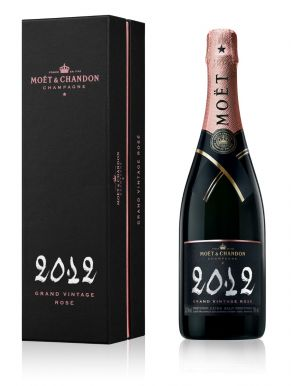Moet & Chandon Rose 2008 Grand Vintage Champagne 75cl
