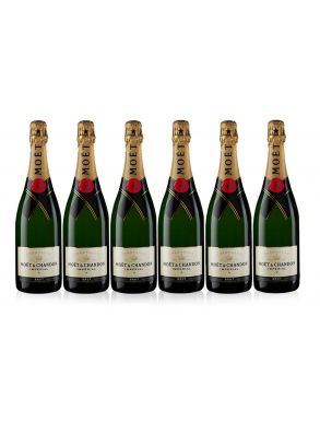 Moet & Chandon Champagne Case Deal Brut NV 6x75cl