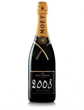 Moet & Chandon Grand Vintage 2008 Champagne 75cl