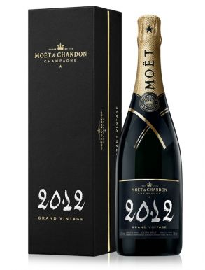 Moet & Chandon Grand Vintage 2012 Champagne 75cl Gift Box