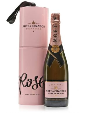 Moet & Chandon Rose Imperial Champagne Pink Gift Tin 75cl