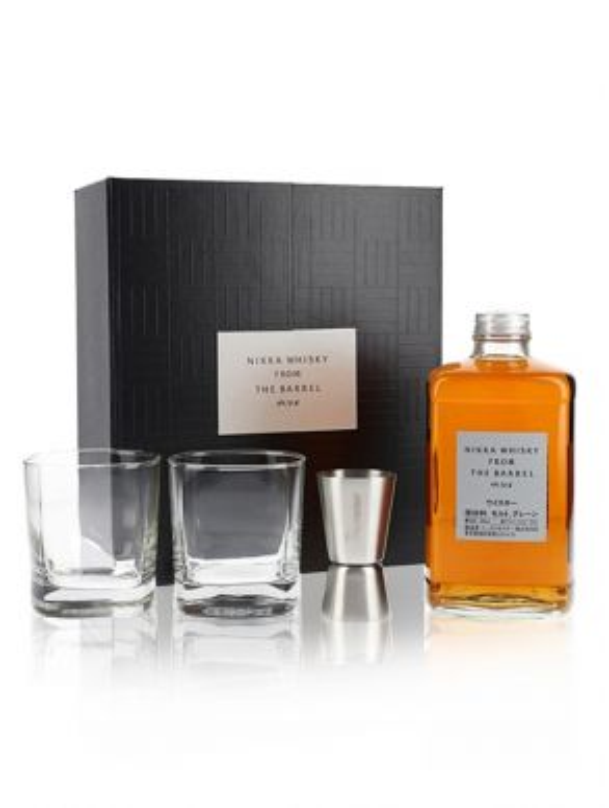 Nikka Whisky Co - Nikka from the Barrel 50cl 2 Glasses Gift Box
