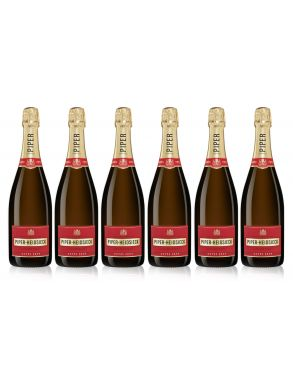 Piper Heidsieck Brut NV Champagne Case Deal 6x75cl