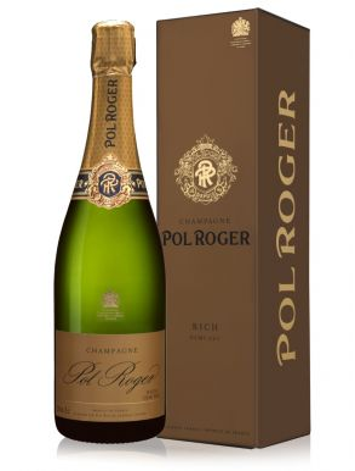 Pol Roger Rich Demi Sec Champagne NV 75cl Gift Box