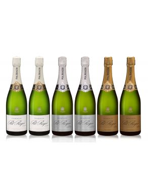 Pol Roger NV Champagne Collection Case Deal 6x75cl