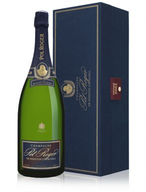 Pol Roger Winston Churchill 2002 Vintage Champagne Magnum 150cl Gift Box