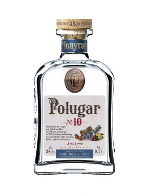 Polugar No.10 Juniper Old Russian Gin 70cl