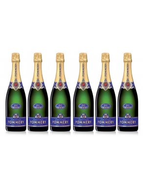 Pommery Brut Royal NV Champagne Case Deal 6x75cl