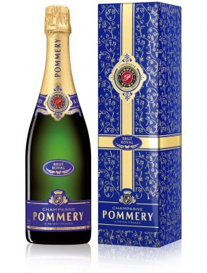 Pommery Brut Royal Champagne NV Gift Box 75cl Festive Edition
