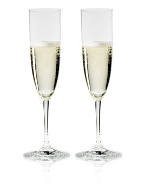 Riedel Vinum Champagne Flutes (Set of 2) Gift Boxed