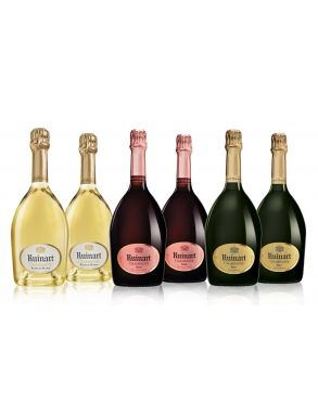 Ruinart NV Champagne Collection Case Deal 6x75cl