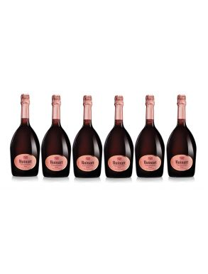Ruinart Rose Champagne NV Case Deal  6 x 75cl
