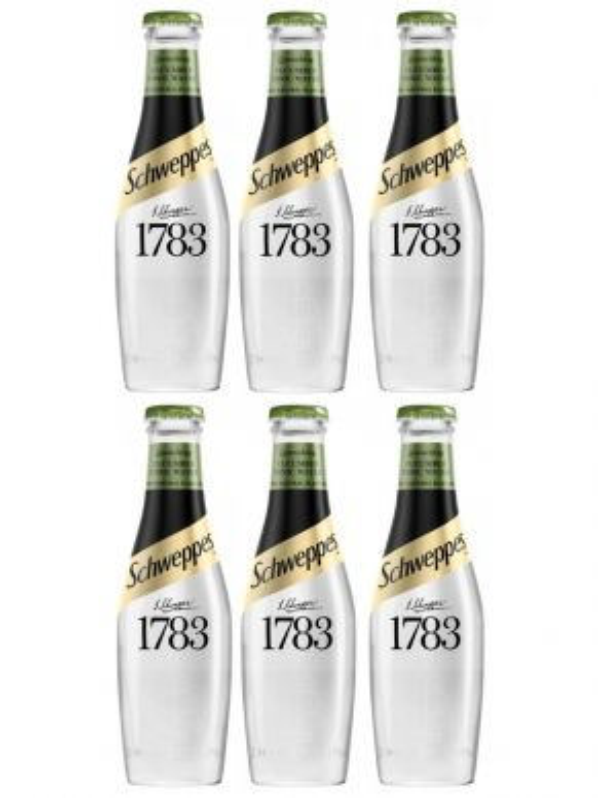 Schweppes 1783 Cucumber Tonic Water 20cl x 6 Bottles