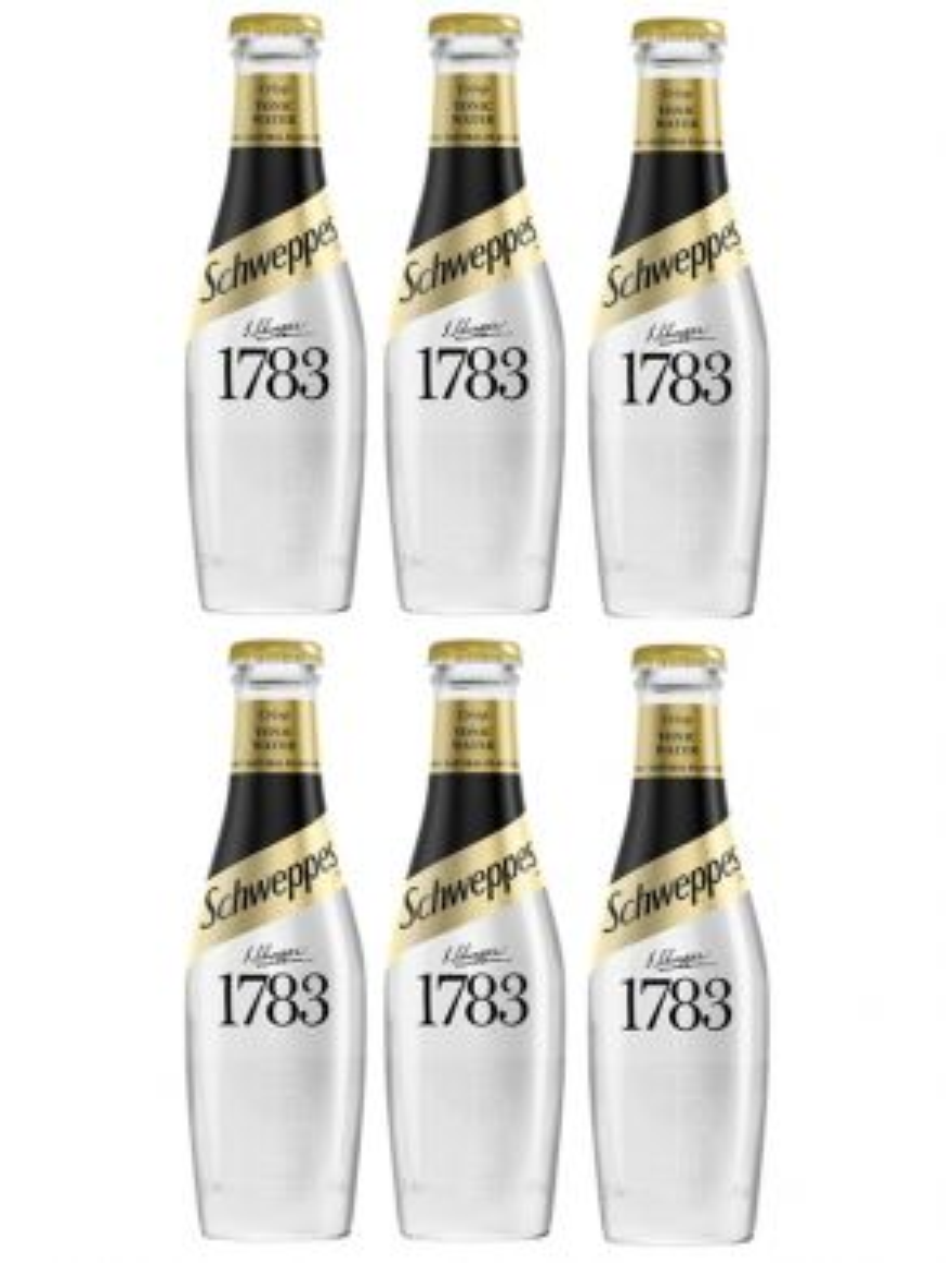 Schweppes 1783 Tonic Water 20cl x 6 Bottles