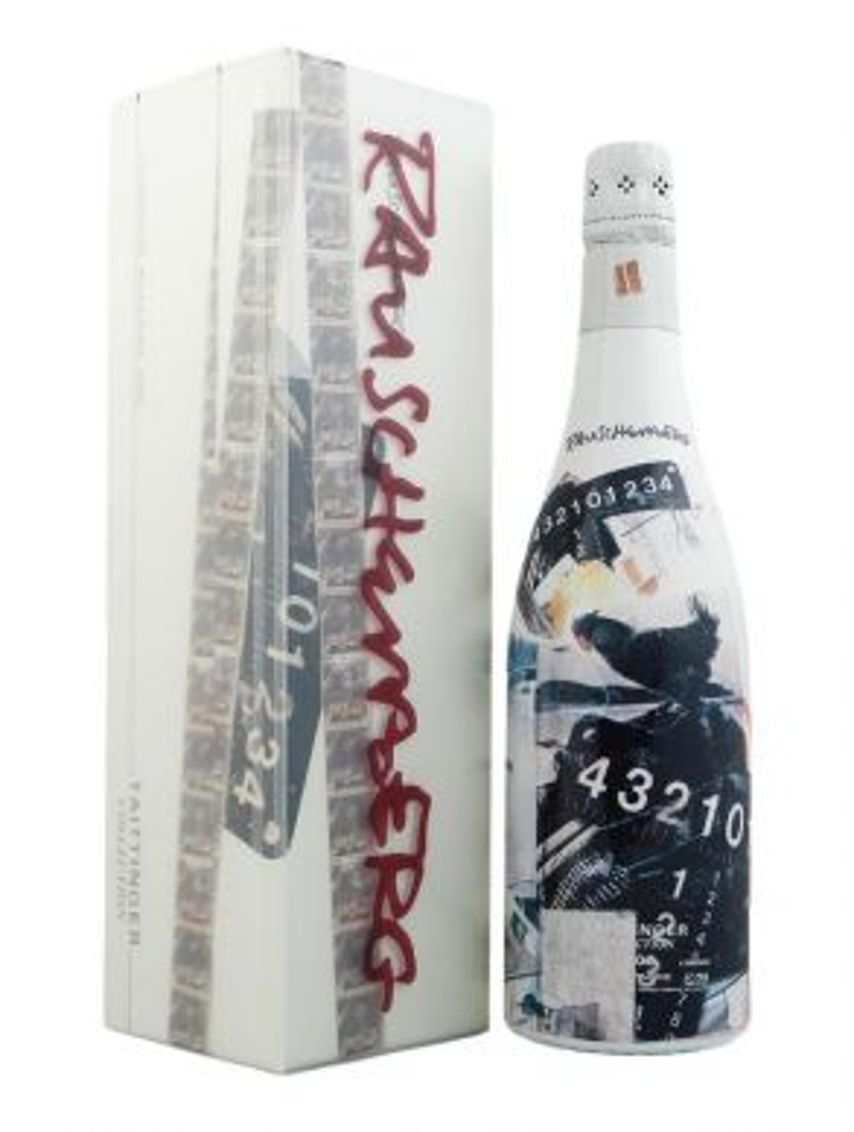 Taittinger Rauschenberg Brut Millesime Champagne 2002 75cl