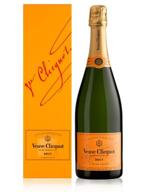 Veuve Clicquot Champagne Yellow Label Non Vintage 75cl Gift Box
