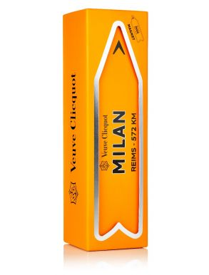 Veuve Clicquot Brut NV Champagne Magnetic Arrow Milan Gift Box 75cl
