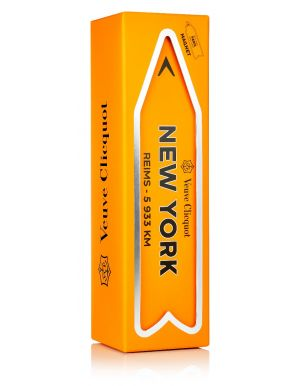 Veuve Clicquot Brut NV Champagne Magnetic Arrow New York Gift Box 75cl
