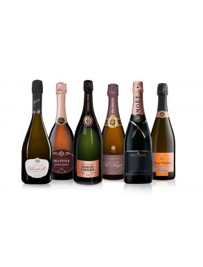 The Vintage Rosé Champagne Collection Case Deal 6x75cl