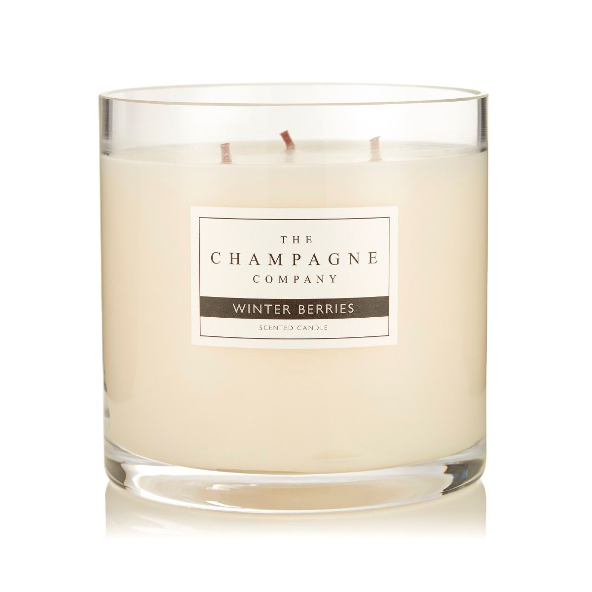 The Champagne Company Winter Berries Luxury Candle 750g