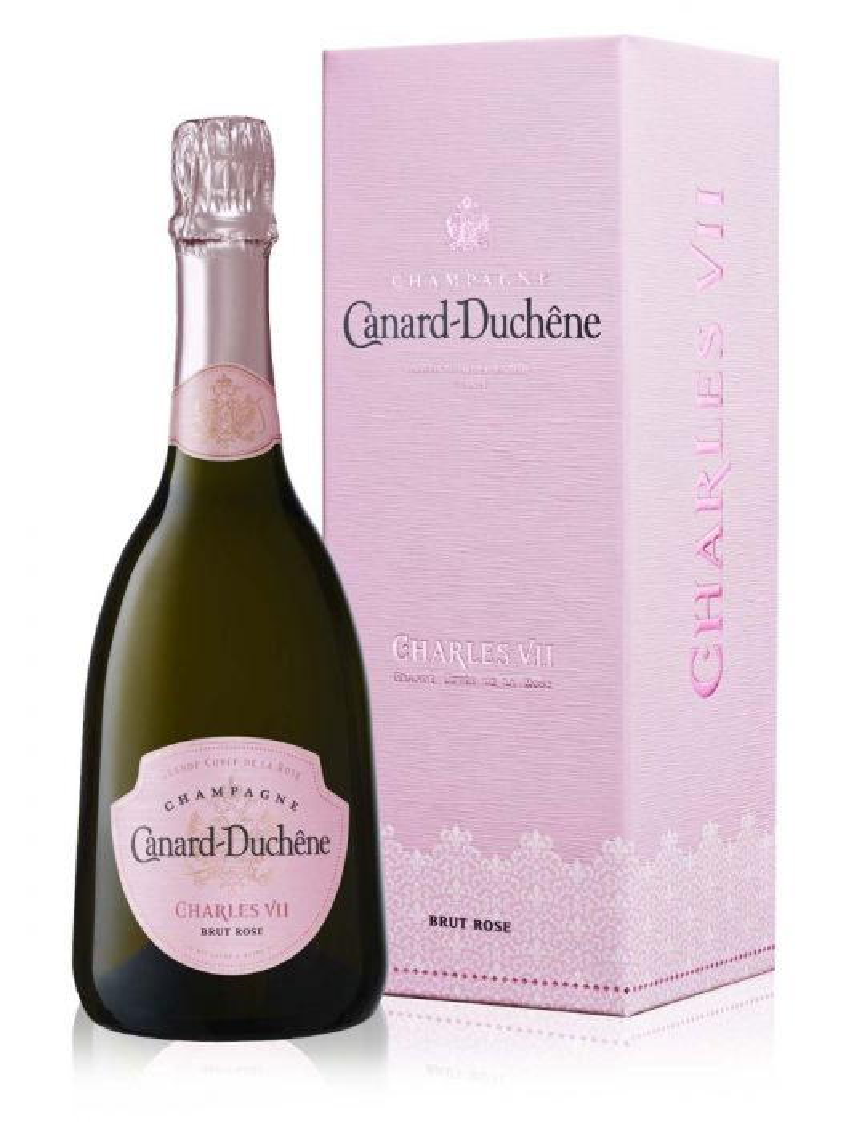 Kết quả hình ảnh cho champagne canard duchene CHARLES VII ROSE