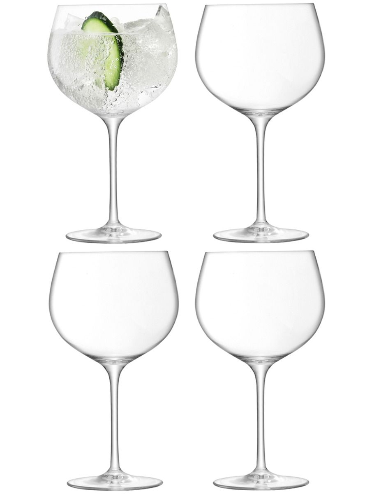 LSA Balloon Gin Glasses Clear - 680ml (Set of 4)