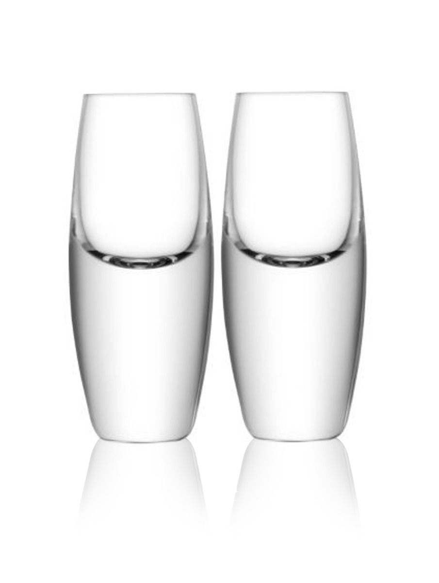 LSA Bullet Shot Glass Set - 70ml (Set of 2)
