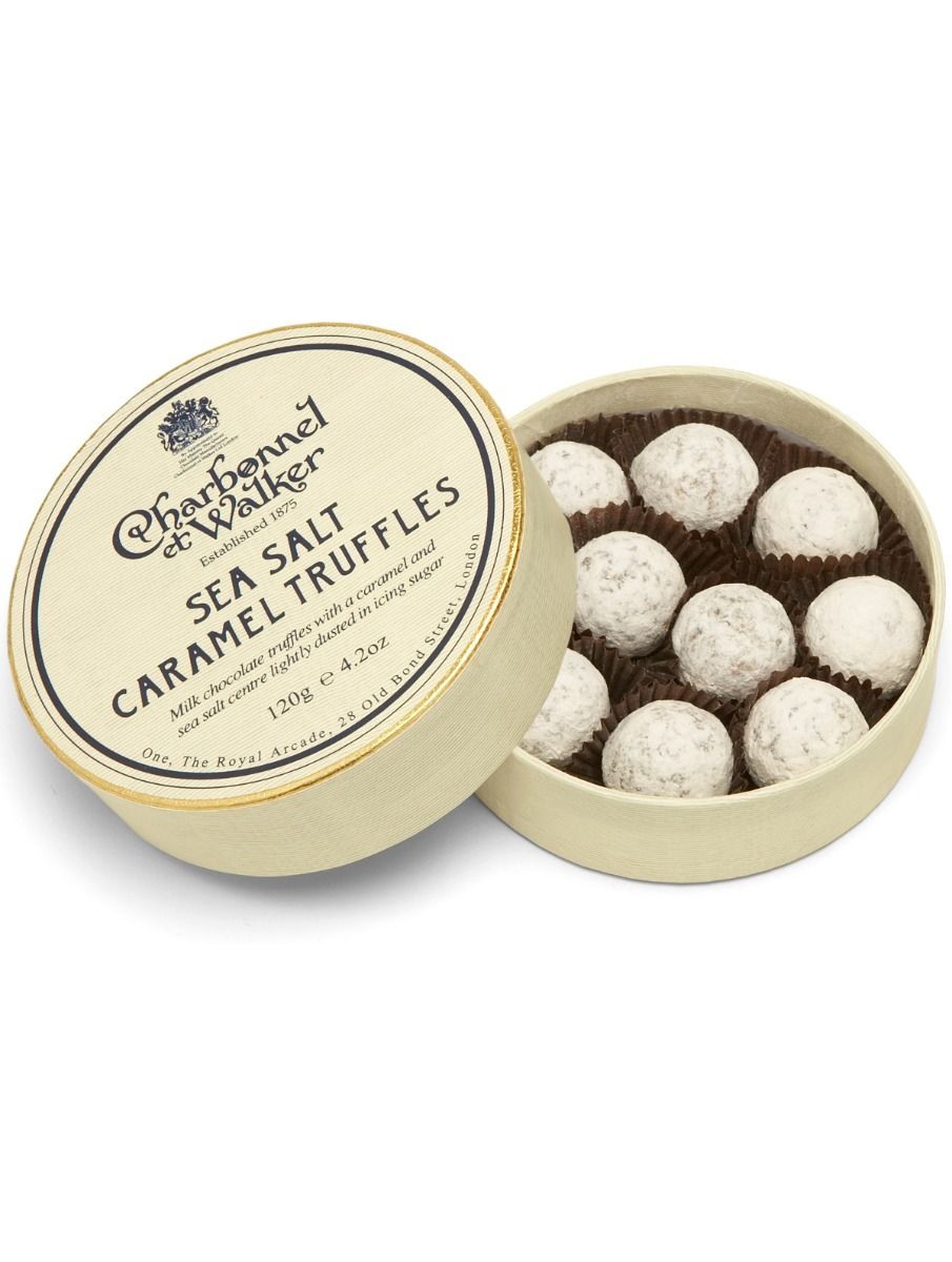 Charbonnel & Walker Sea Salt Caramel Truffles 120g