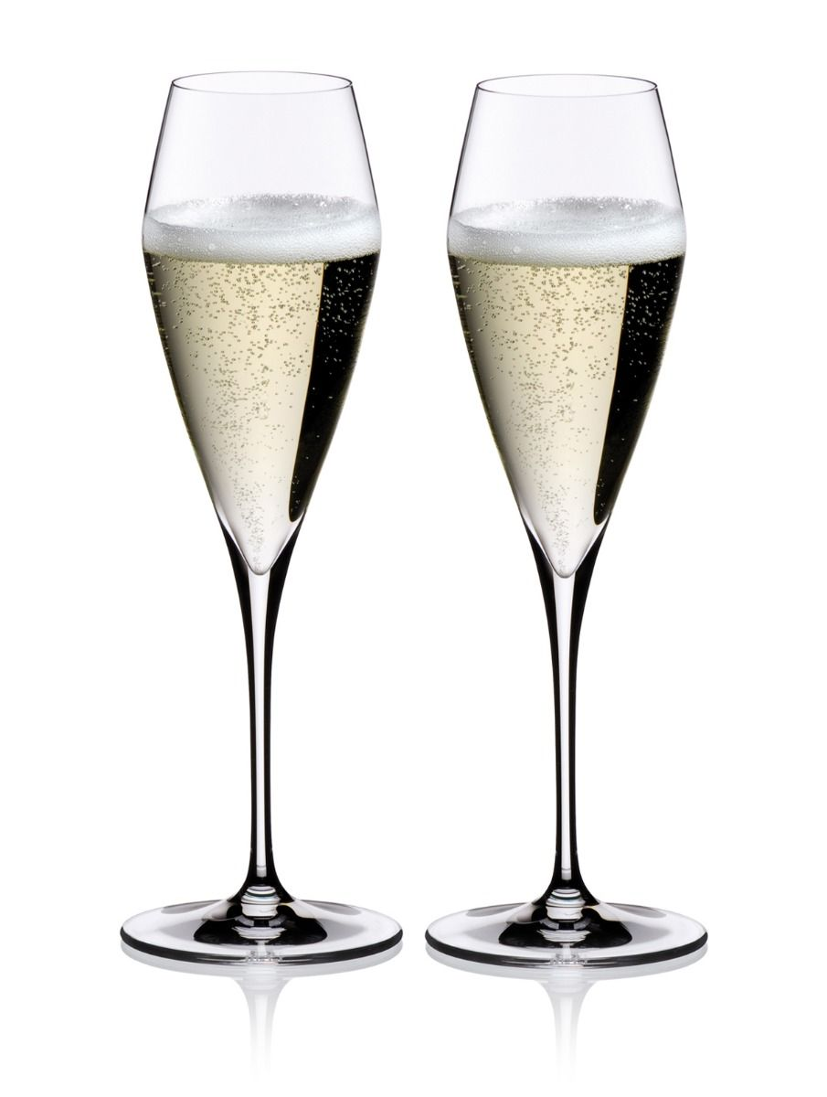 Riedel Vitis Champagne Glasses (Set of 2) Gift Boxed