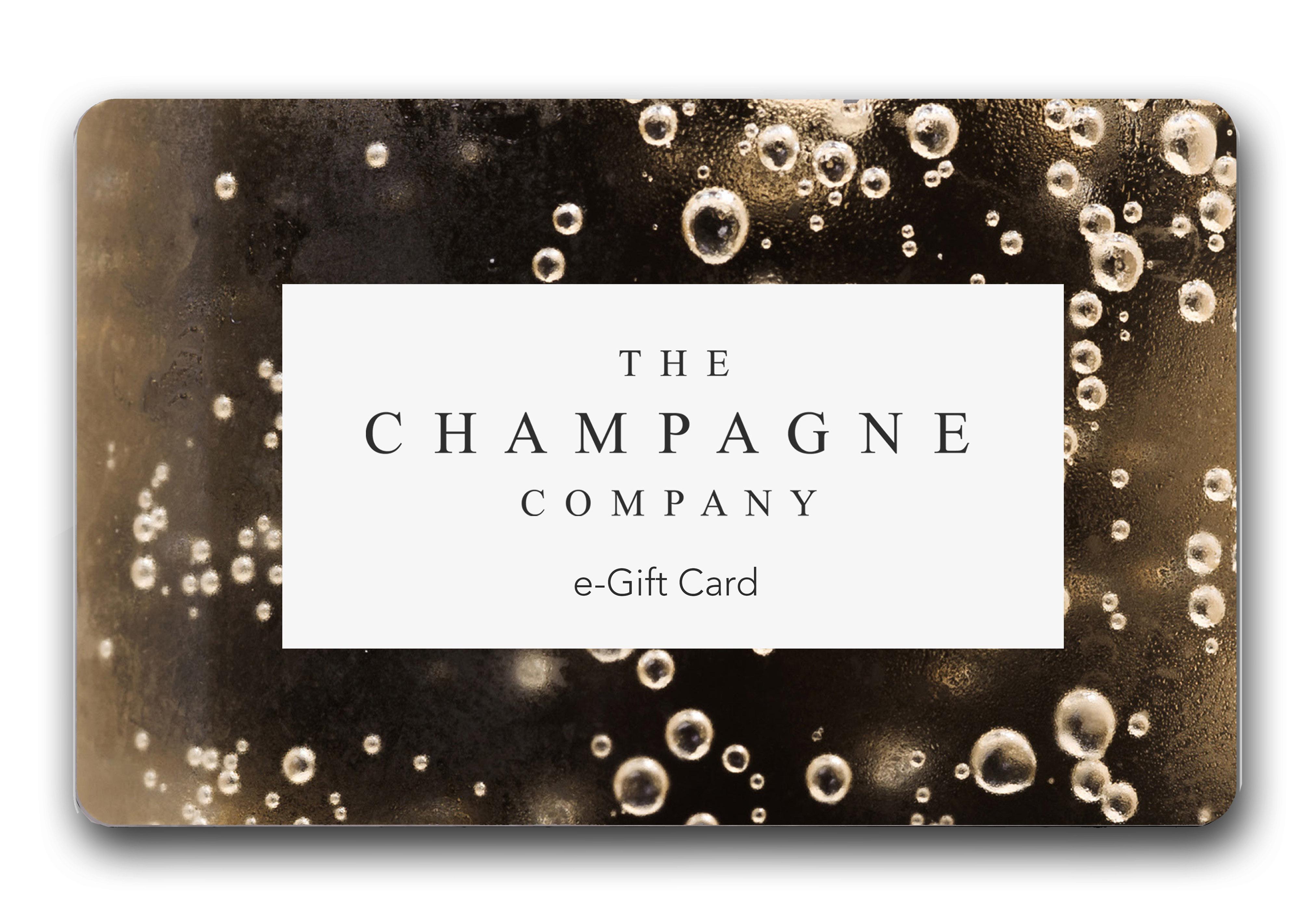 TCC Gift card - Bubbles and TCC white label eGift Card